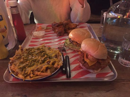 Photo of American Restaurant Meatliquor N1 at 133b Upper Street, London N1 1QP, United Kingdom