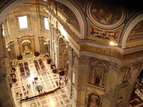 Veduta Interna Dalla Cupola Foto Di Basilica Di San
