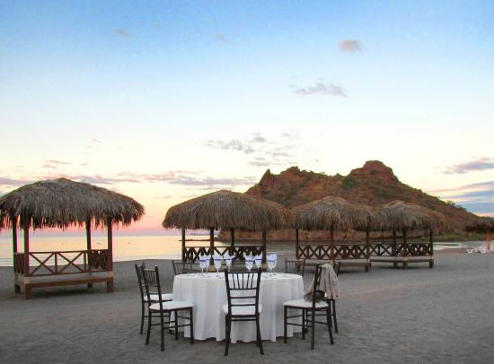 Loreto Bay Golf Resort & Spa at Baja: Recepción en Playa