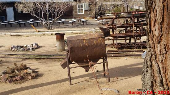 Boron, CA: more mine equipment