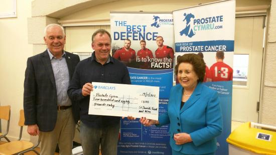 St Davids Food and Wine: We raised £480 for prostate Cymru at our wine tasting event