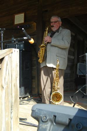 Oren Dunn City Museum: Ace Cannon at the Dogtrot Rockabilly Festival