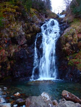 Couflens, Франция: cascade Leziou
