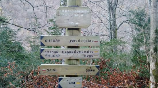 Couflens, Франция: letrero