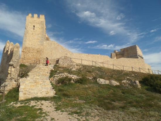 Alcala de Xivert, Hiszpania: Vista desde el poblado.