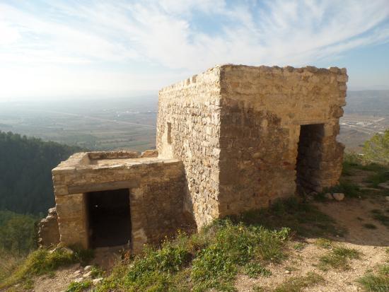 Alcala de Xivert, Испания: Algunas viviendas del poblado reconstruido.