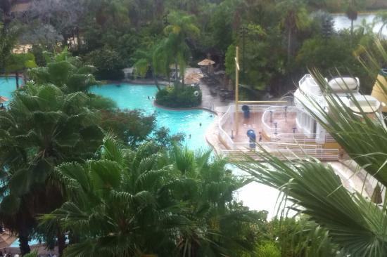Pool view picture of loews royal pacific resort at for Pool show orlando 2015