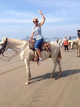 Isla de la Piedra, Messico: Yee haw!