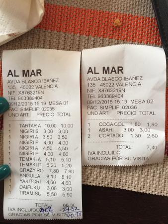Al Mar Sushi Bar