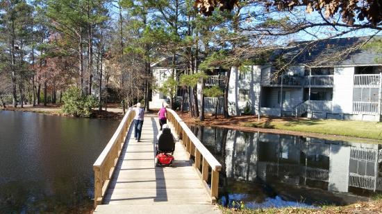 Woodcross Lake Pathway, Harbison Neighborhood Trails