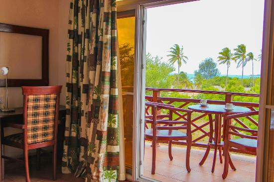 Sunrise Beach Resort: The suite room balcony view