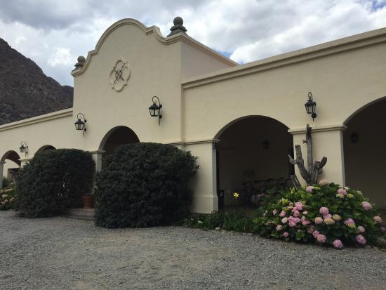 El Portal de las Viñas: Accueil