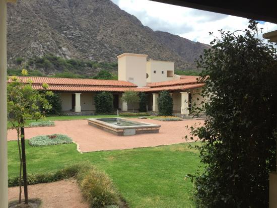 El Portal de las Viñas: Le patio