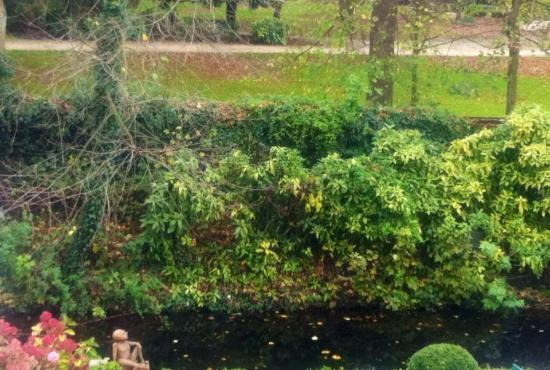 Bed & Breakfast Speelmansrei: The view from the room on a small canal