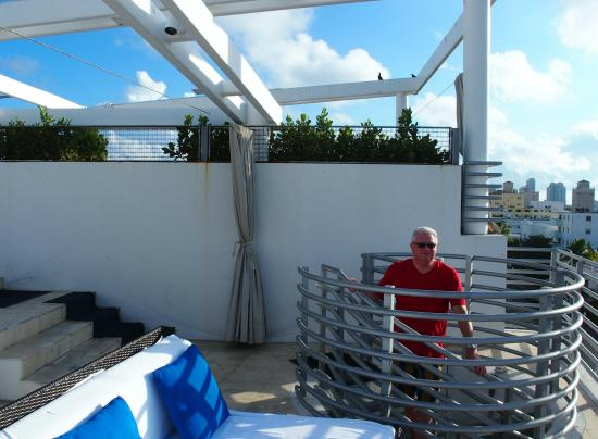 Z Ocean Hotel South Beach Suite Rooftop Terrace
