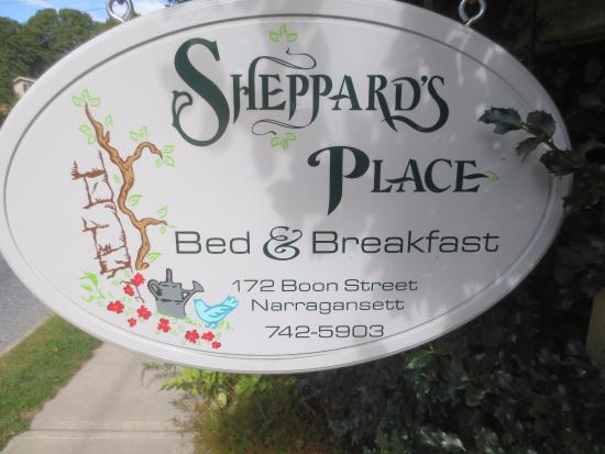 Sheppard's Place: Exterior sign