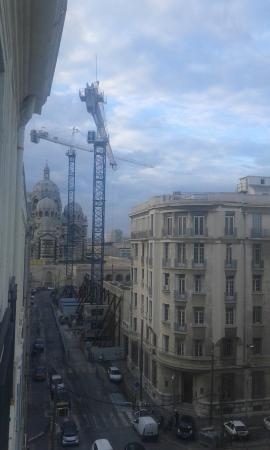 BEST WESTERN hotel du Mucem: vista finestra camera
