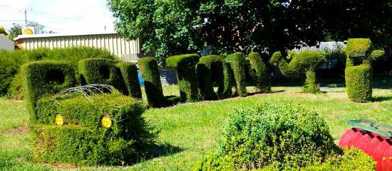 Railton, Town of Topiary