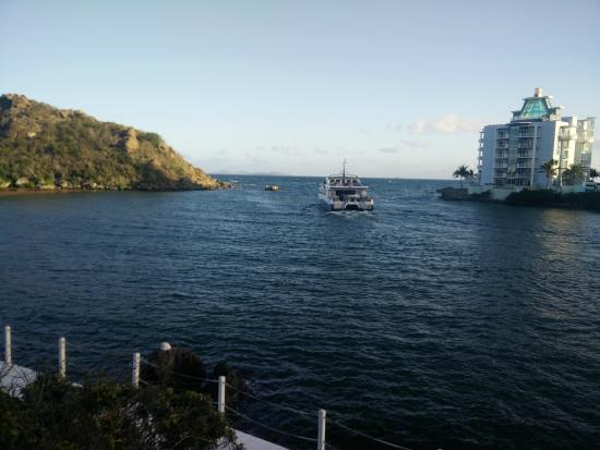 Oyster Pond, St. Martin: view from room