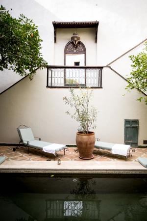 Le Rihani : Se reposer dans le patio