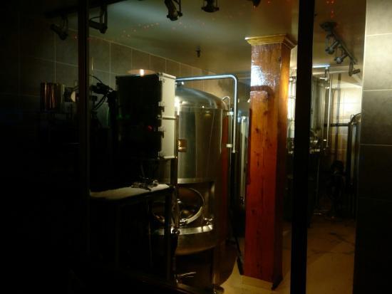 Onsite Brewery at Pat's Pub