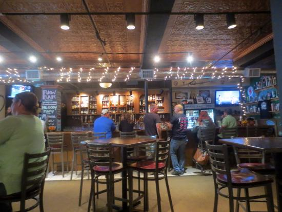 The New World Tavern: Interior