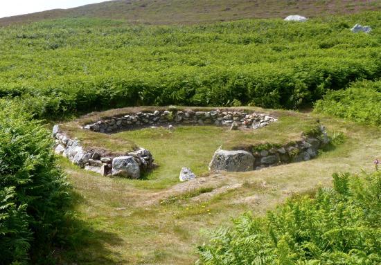 Holyhead mountain Hut Circles