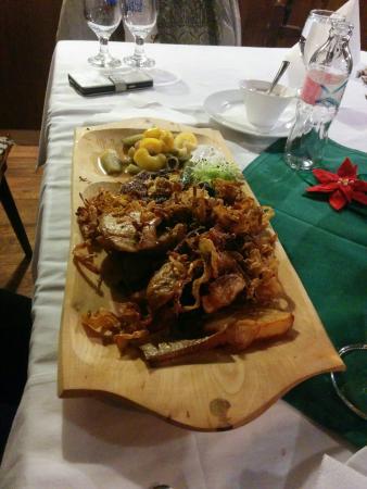 Bekescsaba, Hongrie : Szülinapi vacsi :) ismèt nagyon finomakat ettünk