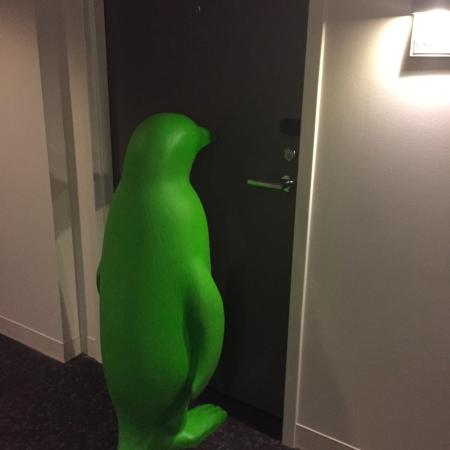Penguin moved ! - Picture of 21c Museum Hotel Bentonville ...