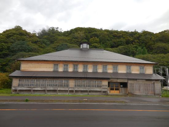Suttsu-cho, Japonia: 建物正面