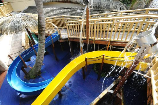 The Rarotongan Beach Resort Spa Little Dolphins Water Slide