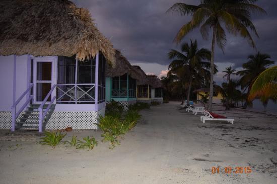 Turneffe Island, Belize: Cabanas