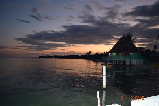 Turneffe Island, Belize: Sunset