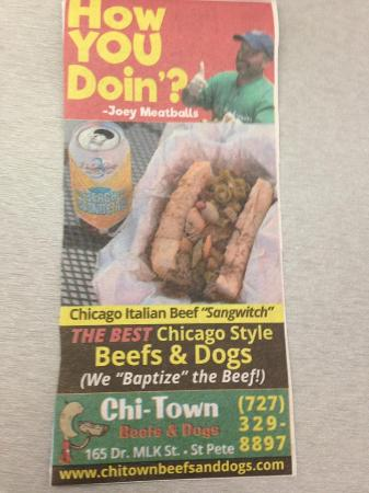 Chi-Town Beefs And Dogs
