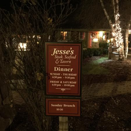 Jesse's Steak and Seafood: Outside view