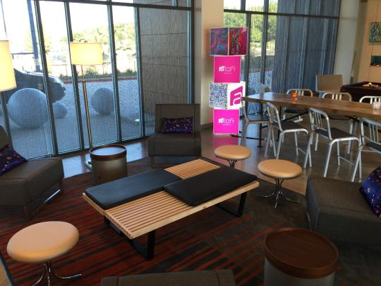 Desain Ruang Tamu Cafe  enjoy your snacks here picture of aloft college station