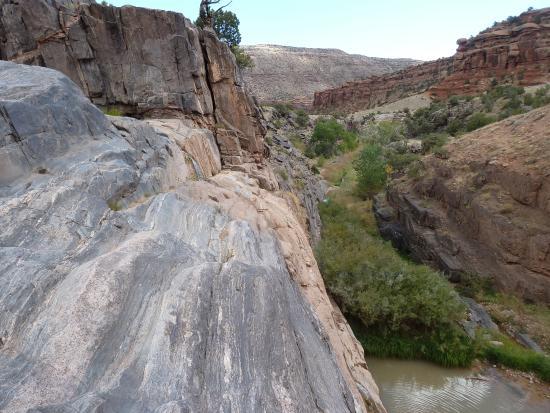 Grand Junction, CO: Big Dominquez Creek falls
