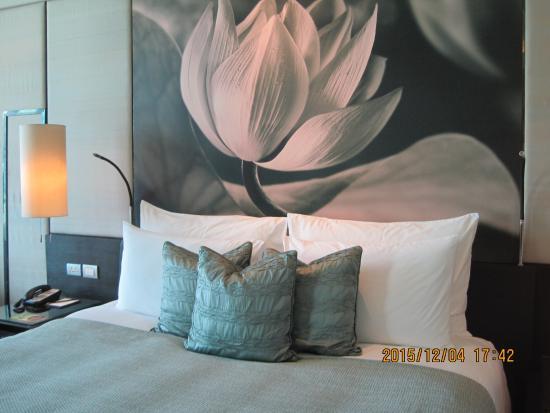 Siam Kempinski Hotel Bangkok : 部屋もきれいで素晴らしい