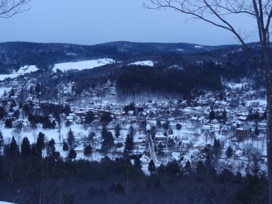 Woodstock, VT: Mount Tom~ View