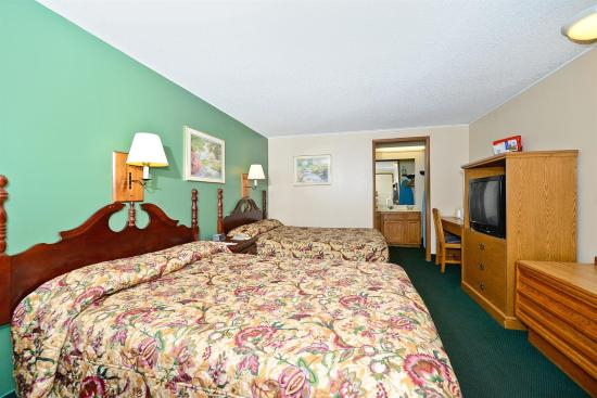 America's Best Value Inn: Guest Room