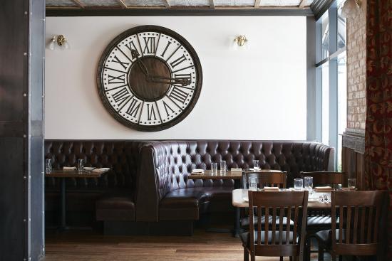 Club Quarters Hotel in San Francisco: Fish & Farm Restaurant