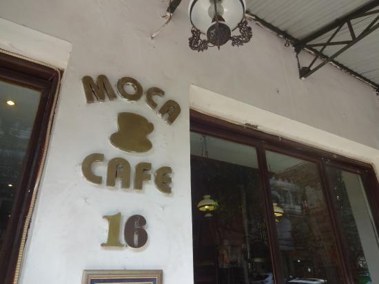 Moca Cafe : お店の入り口