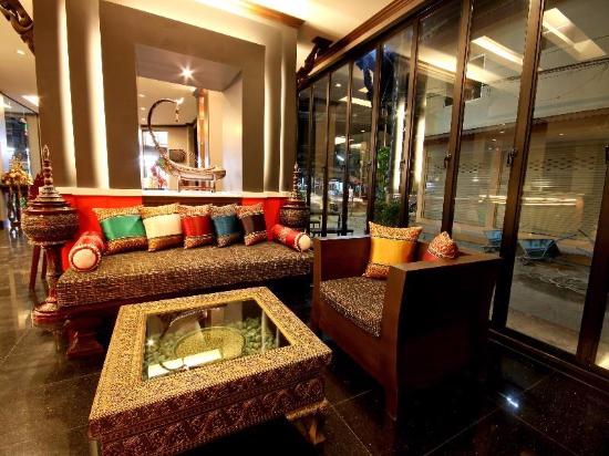 Chalelarn Hotel Hua Hin : บริเวณต้อนรับ