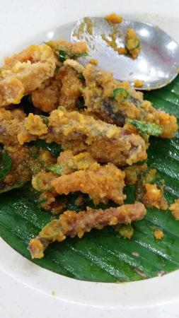 Wilayah Persekutuan, Malasia: Salted egg sotong