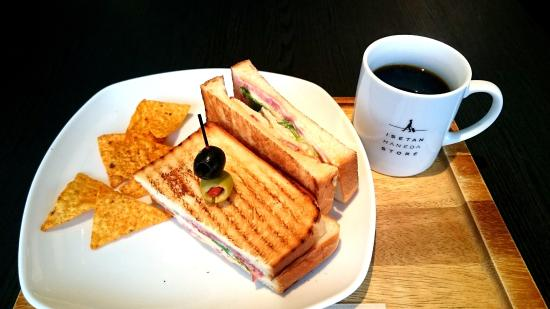 Isetan Haneda Store Men's Cafe