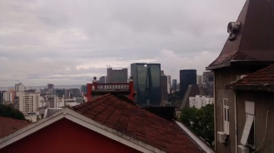 Bossa in Rio Hostel: vista desde la habitación