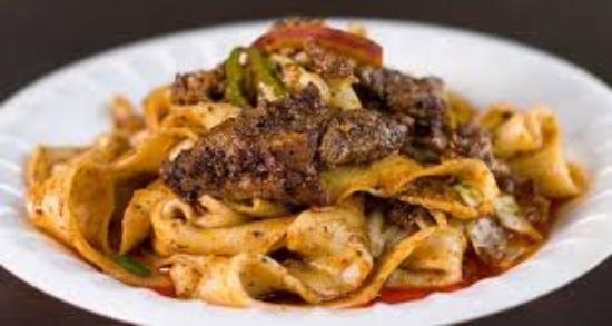 Savory cumin lamb hand pulled noodles picture of xian famous food xian famous food savory cumin lamb hand pulled noodles forumfinder Image collections