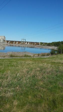 Pinawa, Canada: dam picture