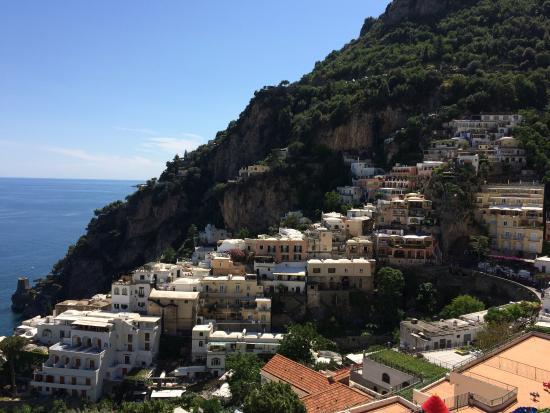 Positano Art Hotel Pasitea : View from Terrace