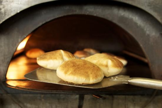 Fresh Pita Baked In A Brick Oven - Picture Of Al Basha